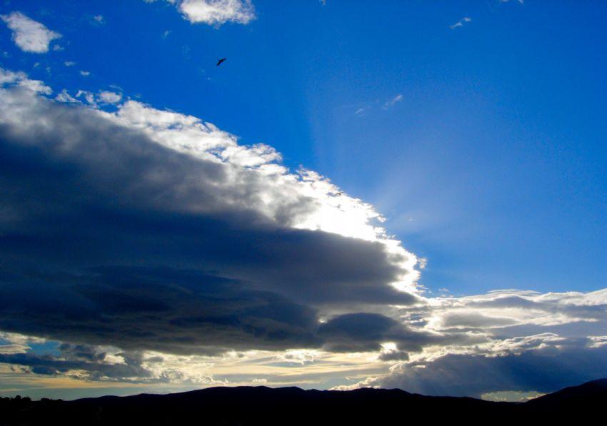 Manzara 37 bulut ve kus
